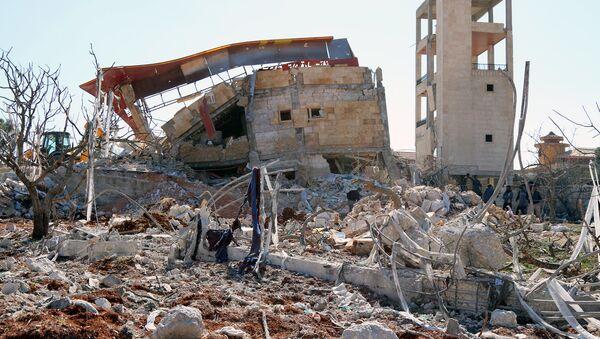 Больница Врачей без границ в провинции Идлиб, разрушенная в результате авиаудара. 15 февраля 2016