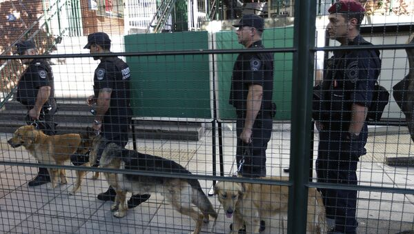 Полиция Аргентины. Архивное фото