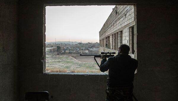 Военнослужащий Сирийской арабской армии. Архивное фото