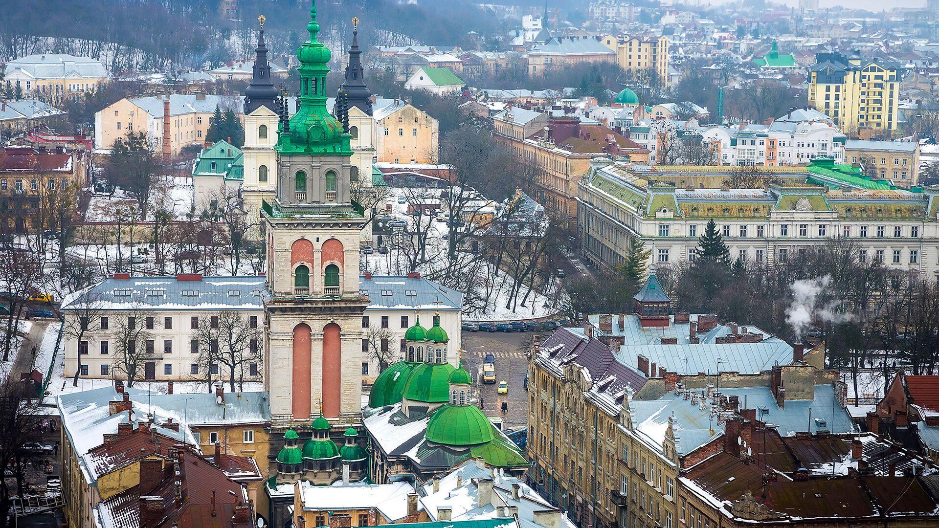 Вид на Львов, Украина - РИА Новости, 1920, 08.02.2021