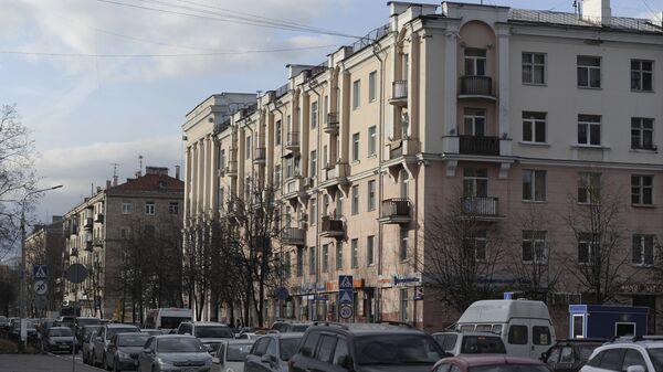 Дом на пересечении Парковой улицы и проспекта Ленина в подмосковной Балашихе. Архивное фото