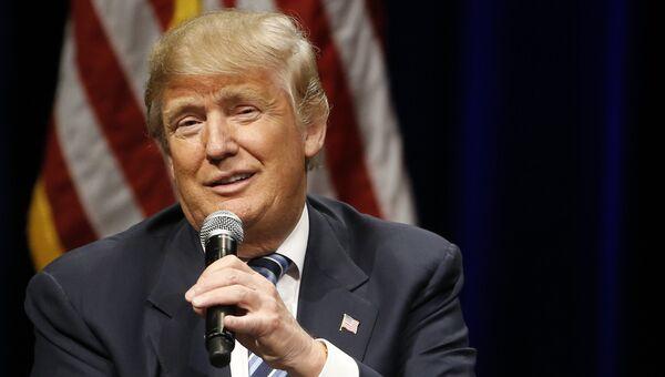 Кандидат на пост президента США Дональд Трамп. Архивное фото