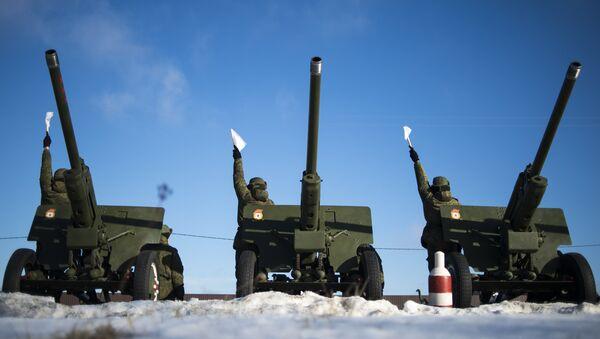 Военнослужащие дивизиона ЗВО. Архивное фото