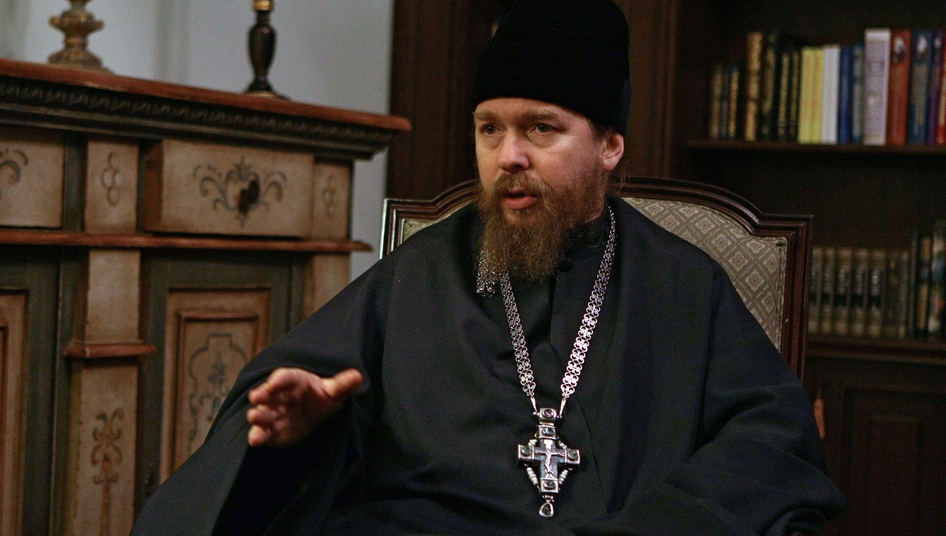 Наместник Сретенского монастыря епископ Тихон - РИА Новости, 1920, 14.12.2016