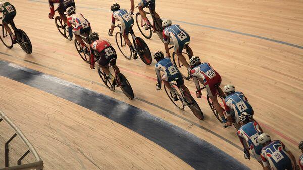 Велоспорт на треке. Архивное фото