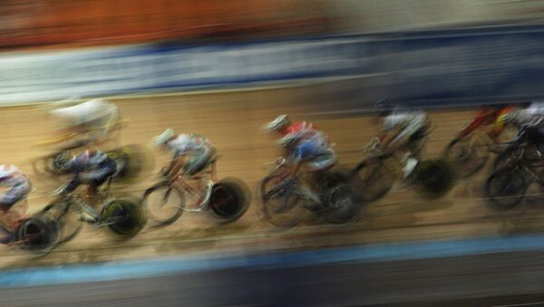 Велоспорт. Архивное фото