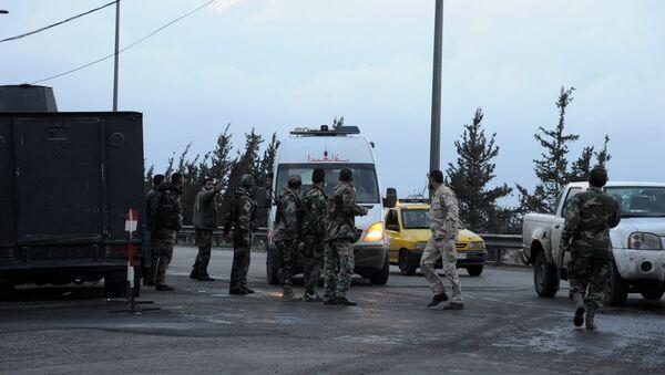 Бригада скорой помощи в Сирии. Архивное фото