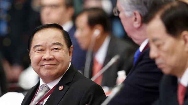 Министр обороны Таиланда Правит Вонгсуван. Архивное фото