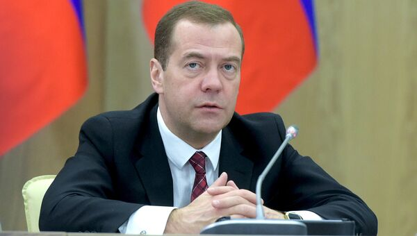 Председатель правительства России Дмитрий Медведев. Архивный фото