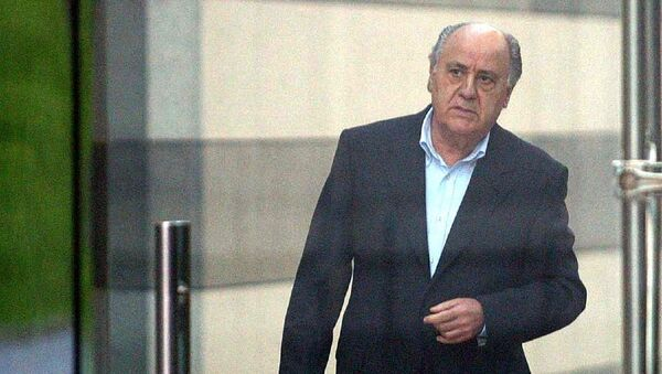 Испанский предприниматель, основатель и экс-президент компании Inditex Амансио Ортега