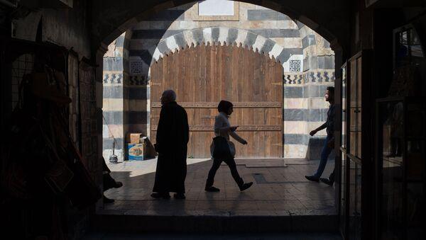 Рынок в Старом городе Дамаска. Архивное фото