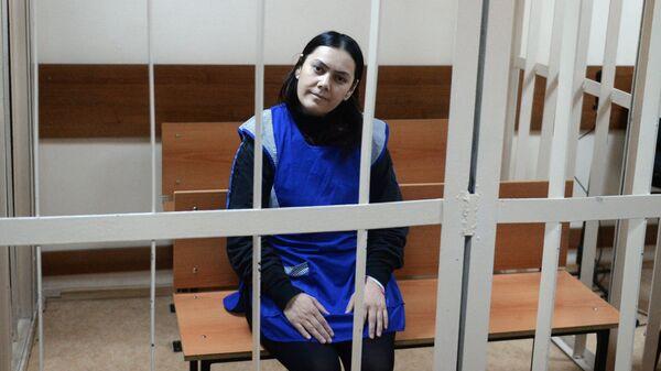 Няня Гюльчехра Бобокулова, обвиняемая в убийстве ребенка. Архивное фото