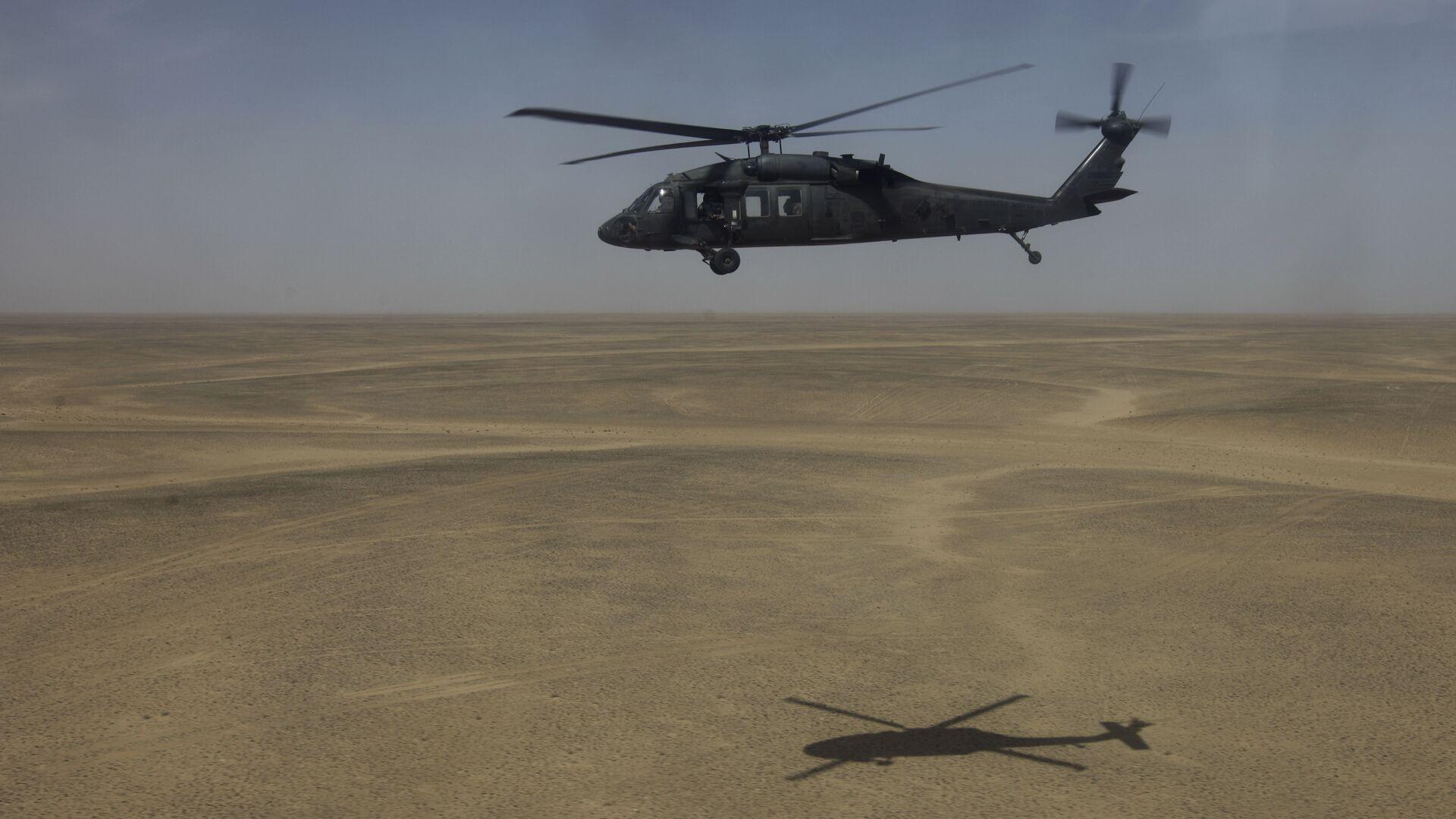 Вертолет Sikorsky UH-60 Black Hawk - РИА Новости, 1920, 22.07.2020