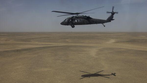 Вертолет Sikorsky UH-60 Black Hawk