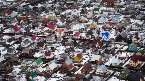 Виды Московской области с вертолета. Архивное фото