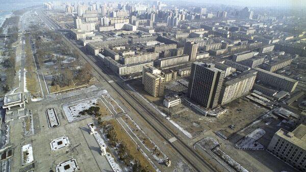 Панорама Пхеньяна. Архивное фото