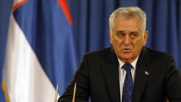 Президент Республики Сербия Томислав Николич. Архивное фото
