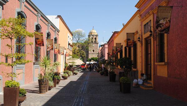 Город Текила, Мексика. Архивное фото