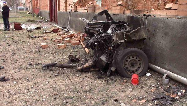 Взрыв автомобиля в Назрани. 11 марта 2016