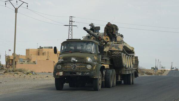 Военная техника Сирийской арабской армии (САА). Архивное фото