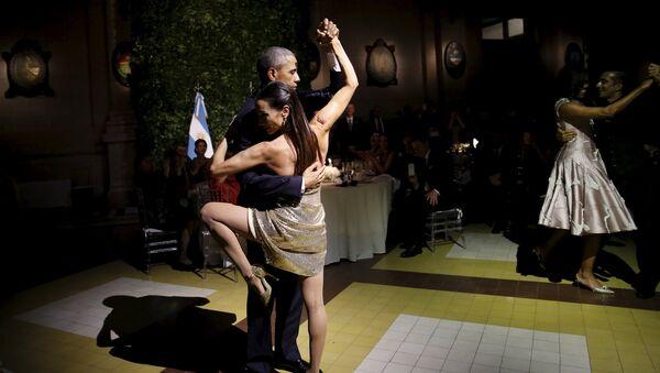 Танго в исполнении Барака Обамы