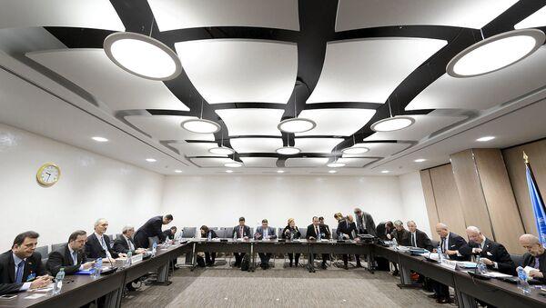 Мирные переговоры ООН по Сирии в Женеве, Швейцария, 24 марта 2016 год
