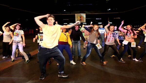 Танцевальный марафон Лучшие друзья для людей с инвалидностью и без