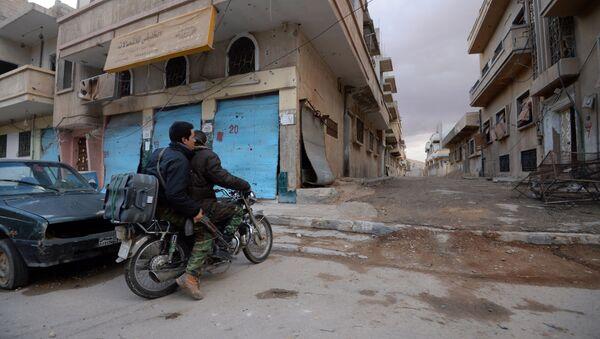 Солдаты сирийской армии (САА). Архивное фото