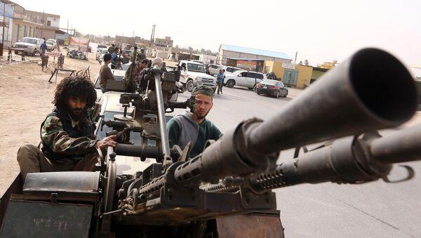 Ситуация в Триполи. Архивное фото