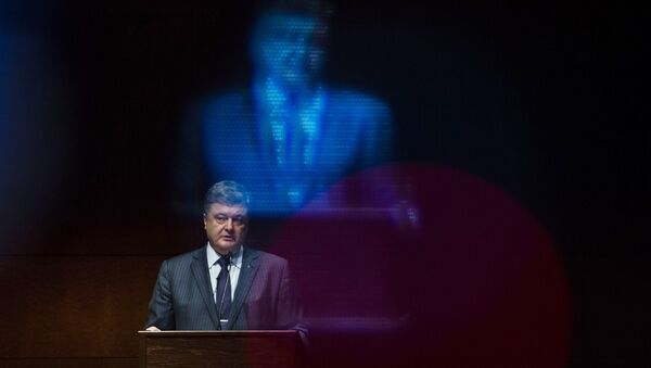 Президент Украины Петр Порошенко. Архивное фото