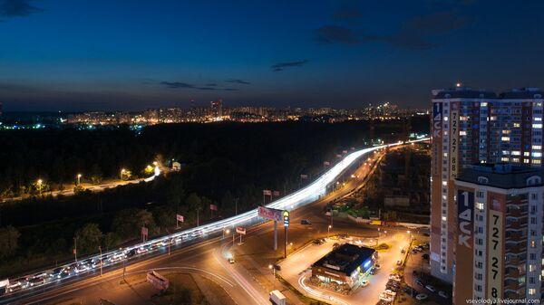 Город Красногорск. Архивное фото