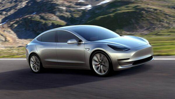 Автомобиль Tesla. Архивное фото