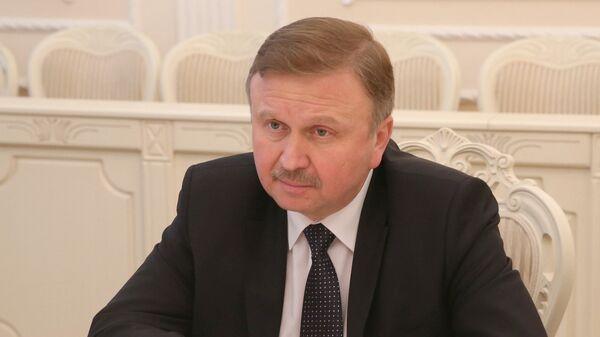 Премьер-министр Белоруссии Андрей Кобяков