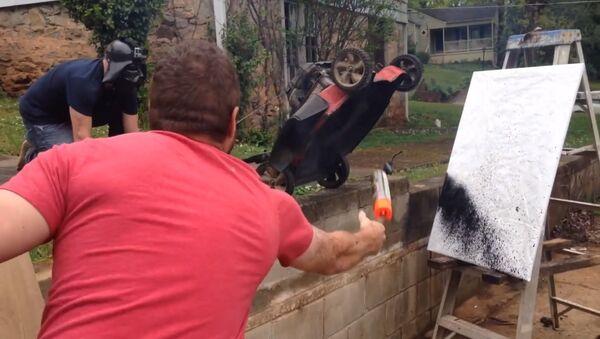 Почему не надо рисовать газонокосилкой