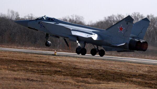 Истребитель МиГ-31БМ. Архивное фото