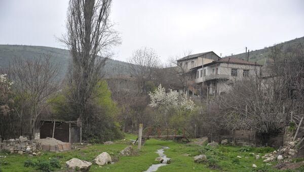 Город Мартакерт на севере Нагорного Карабаха. Архивное фото