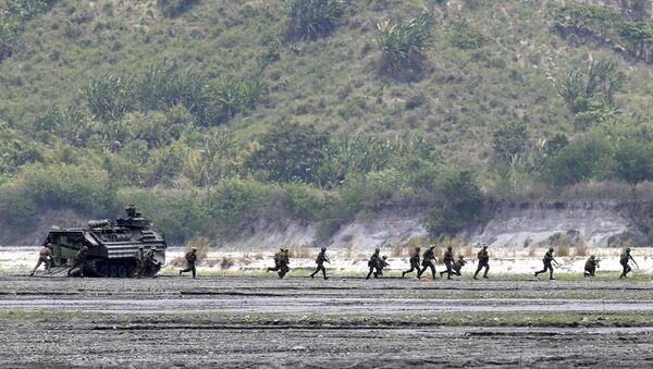 Совместные военные учения США и Филиппин Balikatan 2016