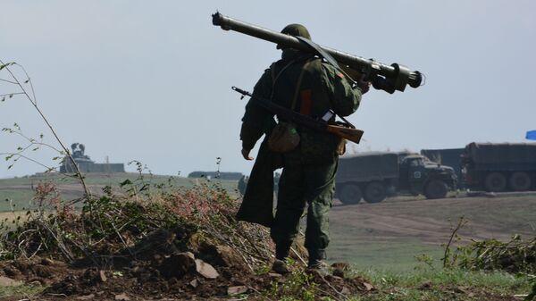 Крупномасштабные военные учения в ЛНР