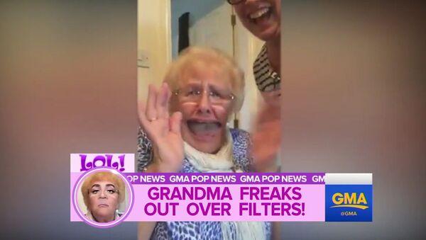 Бабушка очень изменилась
