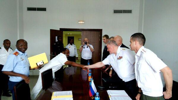 Подписание договора о военном сотрудничестве РФ - Экваториальная Гвинея