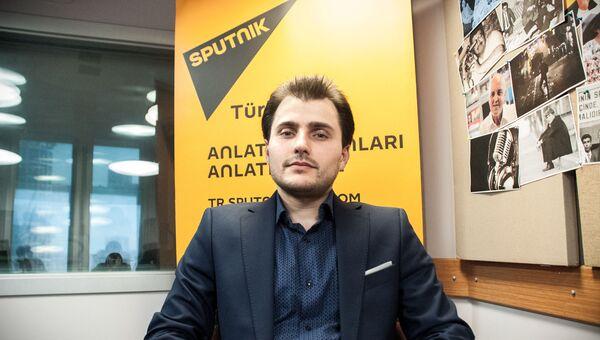 Главный редактор Sputnik Турция Турал Керимов. Архивное фото
