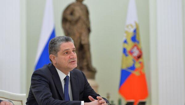 Председатель Коллегии Евразийской экономической комиссии (ЕЭК) Тигран Саркисян. Архивное фото