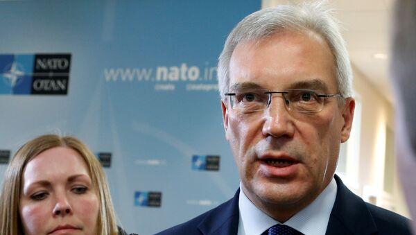 Постпред России при НАТО Александр Грушко. Архивное фото