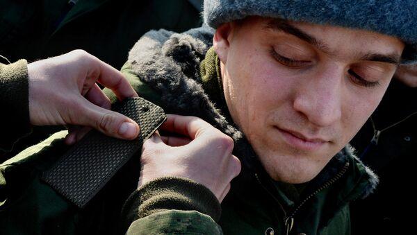Призыв на военную службу в городах России. Архивное фото