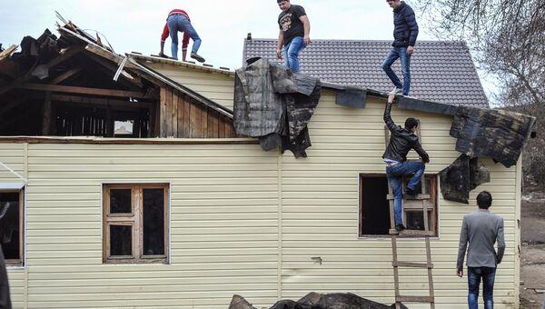 Ситуация в поселке Плеханово. Архивное фото