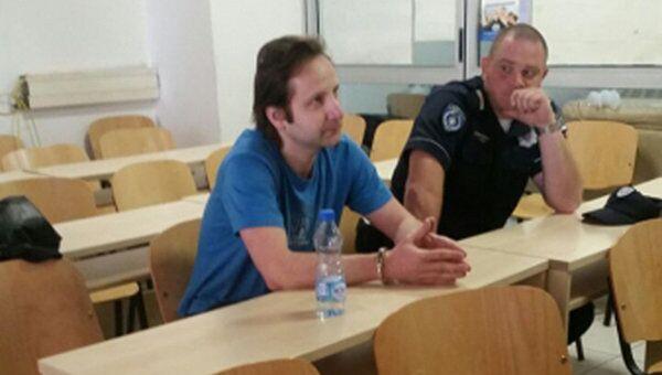 Совладелец турфирмы Лабиринт Сергей Азарсков, доставленный в Москву сотрудниками Интерпола