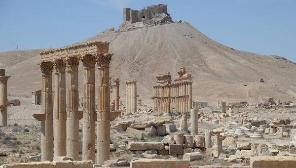Разрушенные памятники Пальмиры. Архивное фото