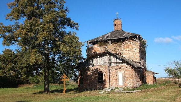 Один из восстанавливаемых русских монастырей – Свято-Покровский Добрый