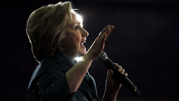 Кандидат в президенты Хиллари Клинтон. Архивное фото