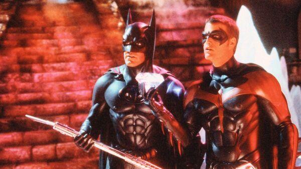 Кадр из фильма Бэтмен и Робин